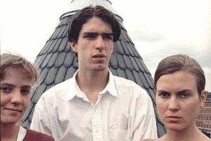 Blake Babies - Blake Babies, c. 1990. From left: Freda Love, John Strohm, Juliana Hatfield