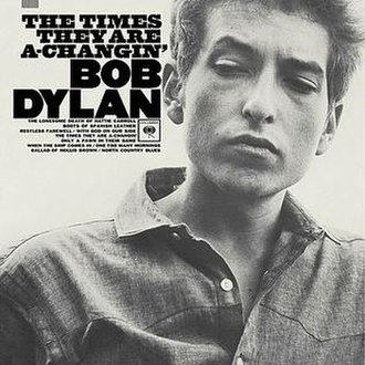 The Times They Are a-Changin' (album) - Image: Bob Dylan The Times They Are a Changin'