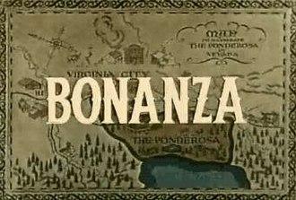 Bonanza - The Bonanza title screen