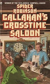 <i>Callahans Crosstime Saloon</i> Fictional bar/story series by Spider Robinson