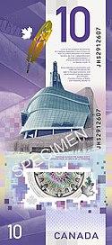 2018 Canada banknote series - Wikipedia