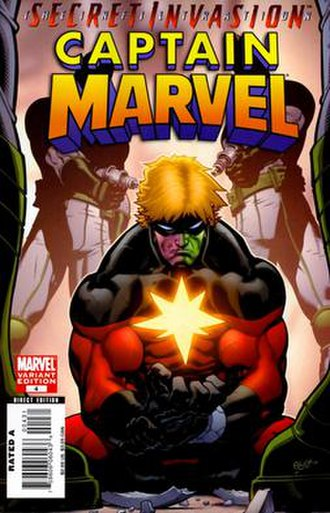 Captain Marvel (Khn'nr) - Image: Capmarvelskrull