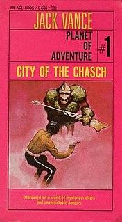 <i>City of the Chasch</i> novel by Jack Vance