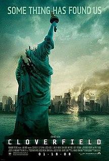 <i>Cloverfield</i> 2008 film by Matt Reeves