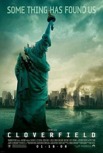 Cloverfield - Theatrical release poster