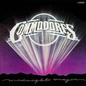 Midnight Magic (album) - Image: Commodores Midnight Magic