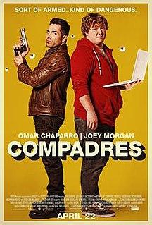 <i>Compadres</i> (film) 2016 film by Enrique Begne