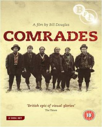 Comrades (1986 film) - British 2009 DVD cover