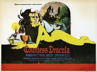 Countess Dracula - Theatrical release poster