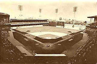 Shibe Park Philadelphia major league stadium from 1909 to 1970; known as Connie Mack Stadium from 1953 to 1970