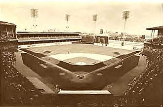 Shibe Park - Image: Connie Mack 1960s