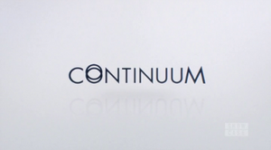 Continuum (TV series) - Image: Continuum Title Card