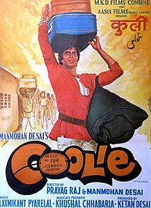 Coolie (1983 Hindi film) - Wikipedia