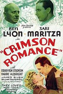 <i>Crimson Romance</i> 1934 film by David Howard