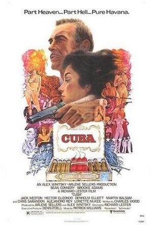 Cuba (film) - Theatrical release poster