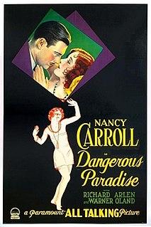 <i>Dangerous Paradise</i> 1930 film