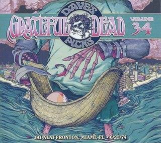 <i>Daves Picks Volume 34</i> 2020 live album by Grateful Dead
