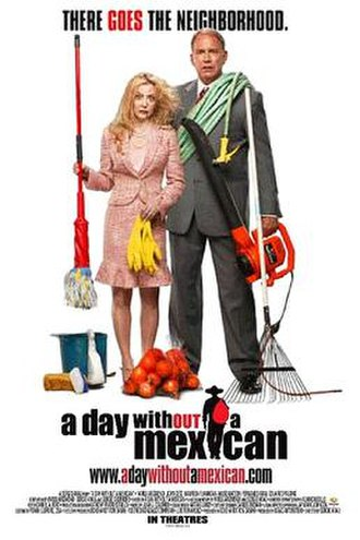 A Day Without a Mexican - Theatrical poster