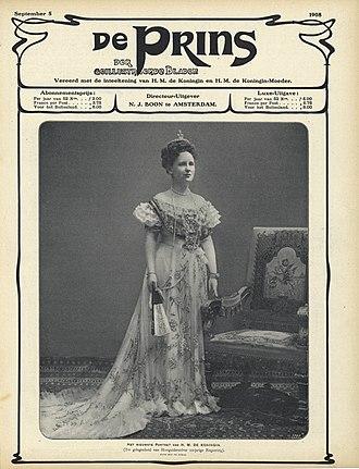 De Prins der Geïllustreerde Bladen - De Prins der Geïllustreerde Bladen, issue of 5 September 1908