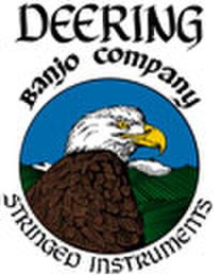 Deering Banjo Company - Image: Deering Eagle stringed inst logo 100