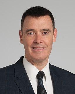 Conor P. Delaney Irish-American colorectal surgeon and professor