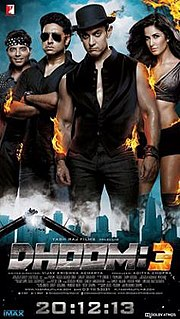 <i>Dhoom 3</i> 2013 Indian Hindi-language action thriller film