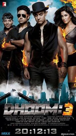Dhoom 3 - Theatrical release poster