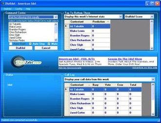 DialIdol - Image: Dialidol screenshot