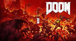 Doom (2016 video game) - Image: Doom 2016 reversible cover