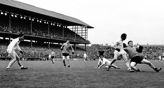 Down GAA - Down and Galway in action in the 1965 National League semi-final