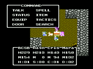 Dragon Quest IV - The NES version of Dragon Quest IV