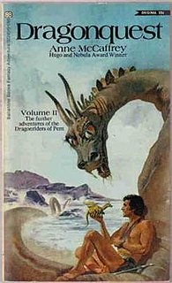 <i>Dragonquest</i> book by Anne McCaffrey