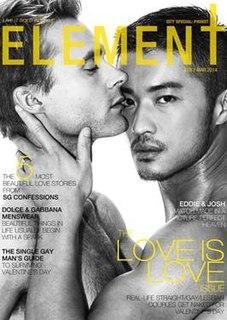 <i>Element Magazine</i> Asian mens online magazine