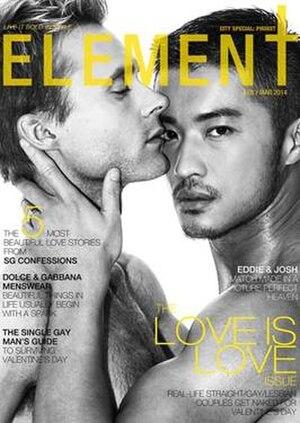 Element Magazine - Feb/Mar 2014 Cover