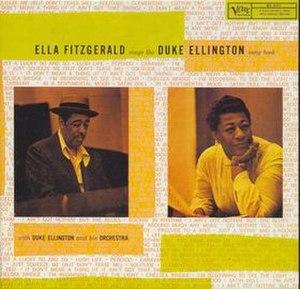 Ella Fitzgerald Sings the Duke Ellington Song Book - Image: Elladukesongbook
