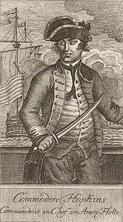 Esek Hopkins Continental Navy officer