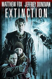 <i>Extinction</i> (2015 film) 2015 horror film directed by Miguel Ángel Vivas
