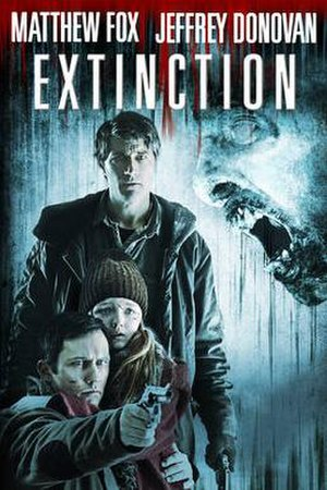 Extinction (2015 film) - Image: Extinction (2015) cover art