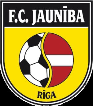 FK Jaunība Rīga - Image: FK Jauniba Riga