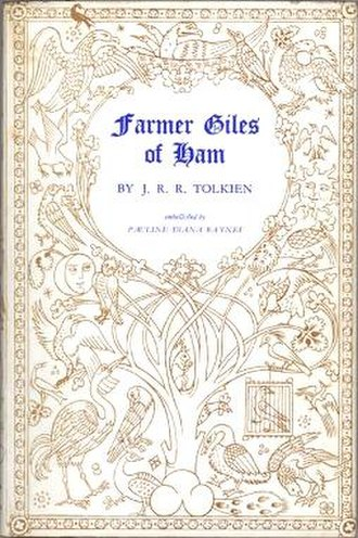 Farmer Giles of Ham - First edition cover