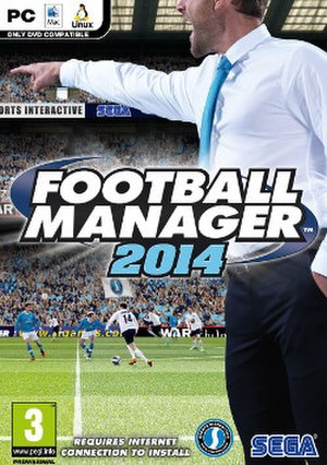 Football Manager 2014 - Image: Football Manager 2014 cover