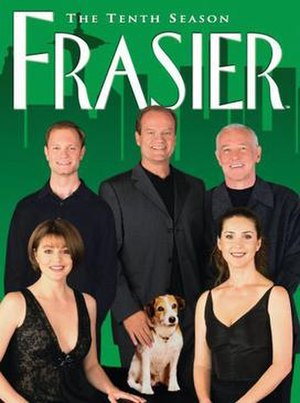 Frasier (season 10) - DVD cover