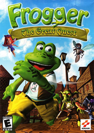 Frogger: The Great Quest - Boxshot of the Windows version