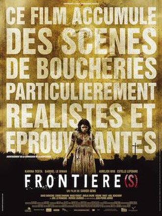 Frontier(s) - Original theatrical poster