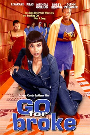 Go for Broke (2002 film) - Theatrical release poster