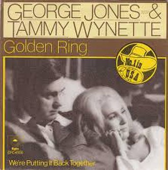 Golden Ring (song) - Image: Golden Ring George Jones and Tammy Wynette
