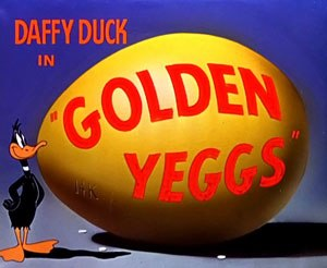 Golden Yeggs - The title card of Golden Yeggs.