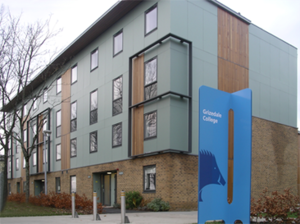 Grizedale College, Lancaster - Grizedale's New Accommodation - Town house on the site of the former 'J' Block