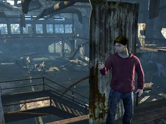 Harry Potter and the Deathly Hallows – Part 1 (video game) - The game makes extensive use of a cover system, similar to that of Grand Theft Auto IV and Gears of War.