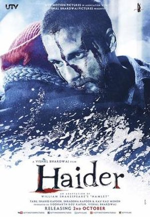 Haider (film) - Theatrical release poster